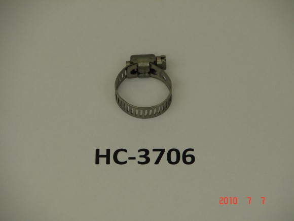 "7/16"" X 25/35"" Stainless Steel Hose clamp"
