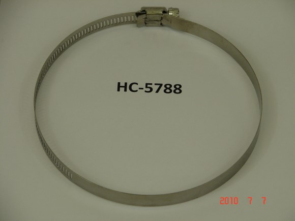 "4"" X 6"" Stainless Steel Hose clamp"