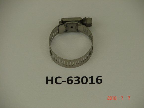 "1 3/16"" X 1 1/2"" Stainless Steel Hose clamp"