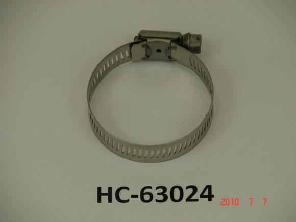 "1 1/16"" X 2"" Stainless Steel Hose clamp"