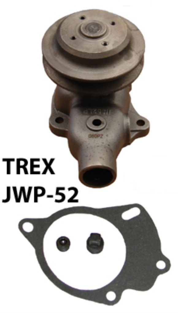 1939-1971 Willys/Jeep® single pulley water pump